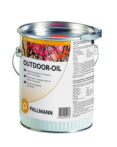 PALLMANN Outdoor Oil 3l bangkirai