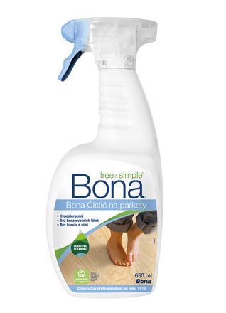 Bona Čistič na parkety Free & Simple 650 ml